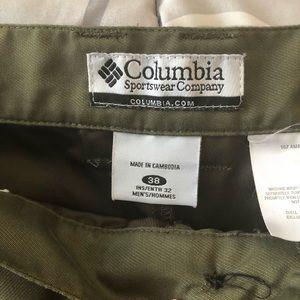 Columbia Pants - Columbia Outdoor Hiking Pants men's  size 38